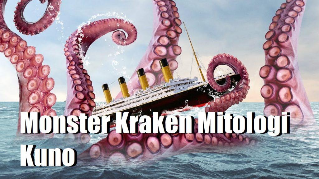 Monster Kraken Mitologi Kuno